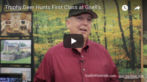 Trophy deer hunts first class